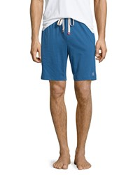 Penguin Jersey Drawstring Shorts True Blue