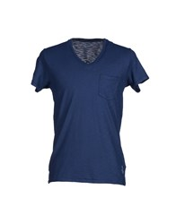 Bowery Topwear T Shirts Men Blue