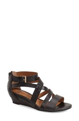 Women's Sofft 'Rianna' Wedge Sandal Black