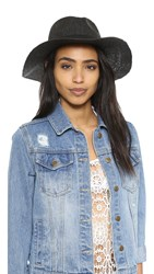 Madewell Packable Woven Hat Black