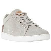 Dune Tidal Perforated Trainers Grey