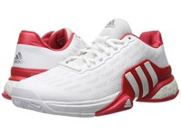 Adidas Barricade 2016 Boost White Ray Red Men's Tennis Shoes