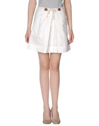 Le Mont St Michel Mini Skirts White