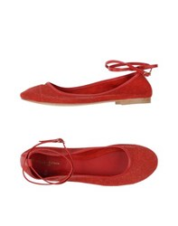 Manila Grace Denim Footwear Ballet Flats Women