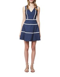 Erin Fetherston Raleigh Denim Fit And Flare Dress