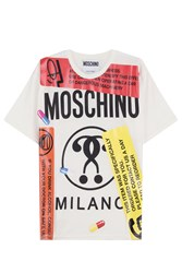 Moschino Printed T Shirt Multicolor