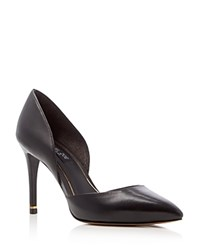 Rachel Zoe Kilee D'orsay High Heel Pointed Toe Pumps Black