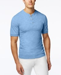Club Room Men's Big And Tall Solid Slub Henley Only At Macy's