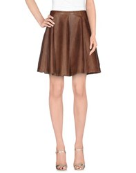 Hotel Particulier Skirts Knee Length Skirts Women Cocoa