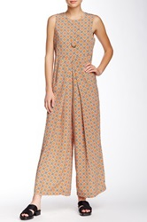 Porridge Printed Jumpsuit Pink