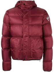 Rossignol Short Hooded Jacket Red