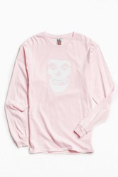 Urban Outfitters Misfits I Want Your Skull Long Sleeve Tee Pink