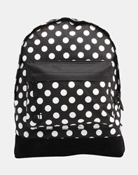 Mi Pac All Polka Dot Backpack Black