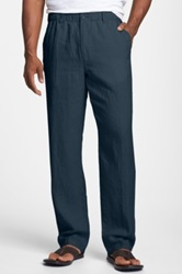 Tommy Bahama 'New Linen On The Beach' Easy Fit Pants Blue