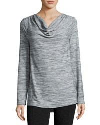 Marc New York Cowl Neck Performance Tunic Overcast