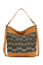 Carlos Santana Dulce Convertible Bucket Bag Brown