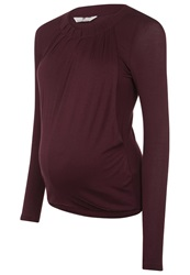 Bellybutton Harlie Long Sleeved Top Winetasting Bordeaux