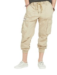 Denim And Supply Ralph Lauren Cargo Joggers Boating Khaki