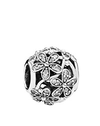 Pandora Design Pandora Charm Sterling Silver And Cubic Zirconia Dazzling Daisy Meadow Moments Collection