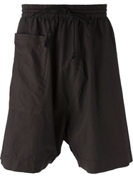 Lost And Found Rooms Drop Crotch Shorts