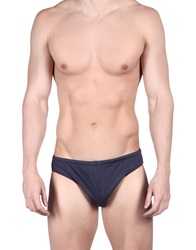 Emporio Armani Swimwear Bikini Bottoms Dark Blue