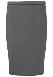 Banana Republic Pencil Skirt Dark Charcoal Dark Gray
