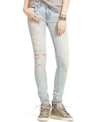 Denim And Supply Ralph Lauren Abby Ripped Skinny Jeans