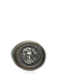 Versus Lion Medallion Ring