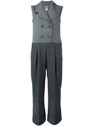 I'm Isola Marras Notch Lapel Jumpsuit Black