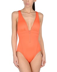 Adidas By Stella Mccartney Performance Wear Orange