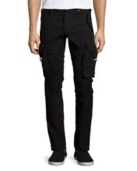 Prps Slim Fit Twill Cargo Pants Black