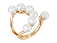 Rebecca Minkoff Open Pearl Ring Gold Pearl Ring