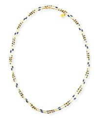 Gurhan Delicate Long Beaded Sapphire Necklace 48