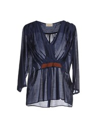 Momoni Momoni Shirts Blouses Women Dark Blue