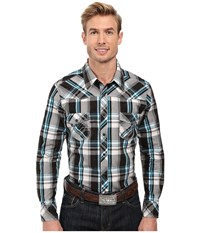 Rock And Roll Cowboy Long Sleeve Snap B2s8426 Black Men's Clothing