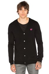 Mcq By Alexander Mcqueen Swallow Cardigan Black