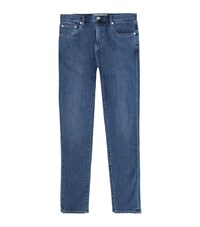 Burberry Slim Fit Jeans Male Blue