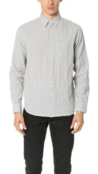 Rag And Bone Beach Shirt Ivory Grey