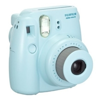 Amazon.Com Fujifilm Instax Mini 8 Instant Film Camera Blue Polaroid Camera Electronics