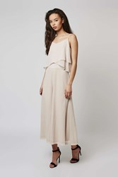 Wide Leg Frill Culotte Jumpsuit By Rare Nude