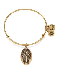 Alex And Ani Armenian Cross Iii Expandable Wire Bangle Rafaelian Gold