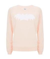 Zoe Karssen Bat Sweater Pink