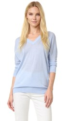 Derek Lam Dolman Sweater Chambray