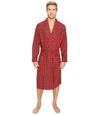 Tommy Hilfiger Cozy Fleece Robe Mahogany Men's Robe