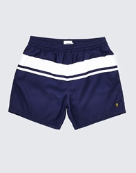 Farah Vintage Swim Shorts With Stripe