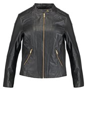 Junarose Jrjanni Leather Jacket Black