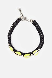 Venessa Arizaga Shall We Dance Choker Black Yellow