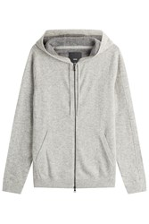 Vince Cashmere Hoody Grey