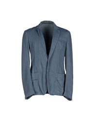 Gianfranco Ferre Gf Ferre' Suits And Jackets Blazers Men Slate Blue