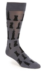 Hot Sox Men's 'Chess' Socks